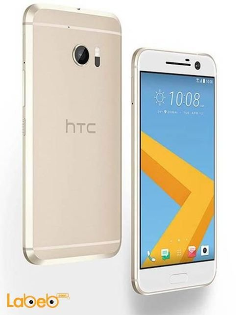 HTC 10 smartphone Topaz Gold color