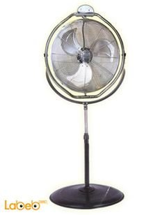 Romo international Turbine fan - 20 inch - 130W - Stainless steel