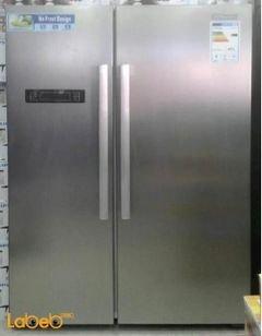 ثلاجة سوبر جينرال سايد باي سايد - 517 لتر - ستانليس - SGR 860SBS