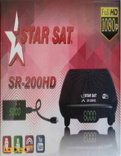Star Sat Digital Receiver - Full HD - 1080P - SR-200HD
