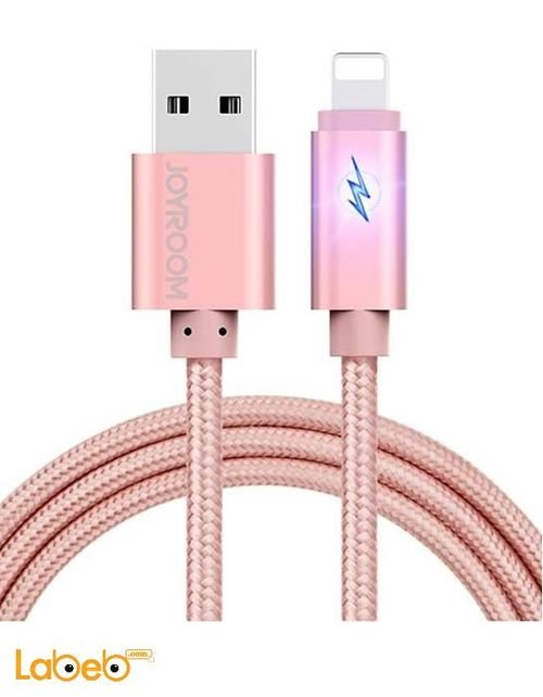 JOYROOM Charge and Data Snyc Iphone 6 Pink color JR-S118