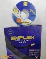 SIMPLEX Coaxial Cable RJ6
