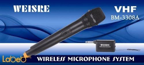 ميكروفون لا سلكي WEISRE VHF DM-3308A