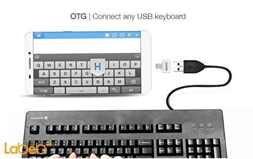 Remax mini Micro to USB OTG Adapter connect any USB keyboard