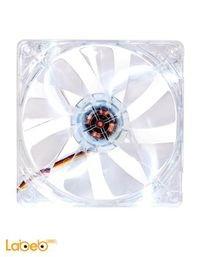 مروحة تبريد LED Thermaltake أبيض CL-F020-PL12WT-A حجم 12 سم