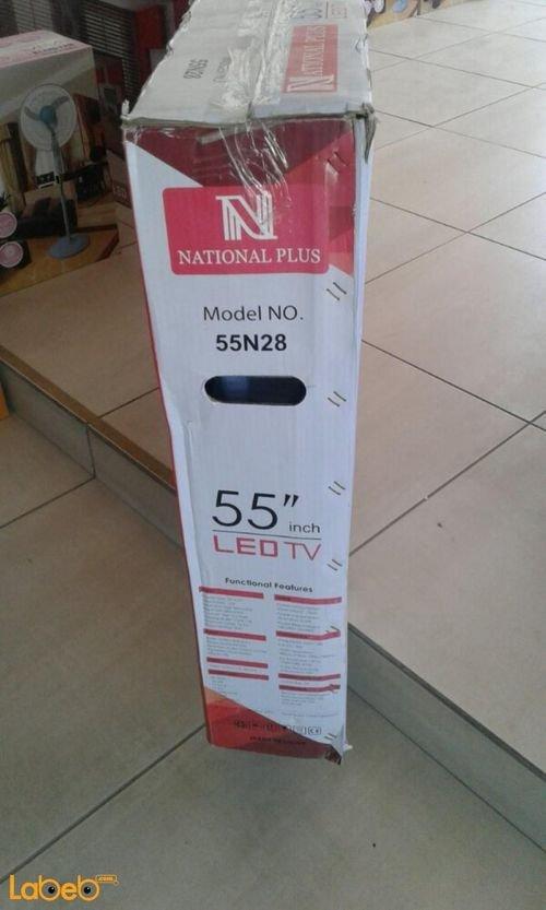 National plus led TV 55inch 55n28