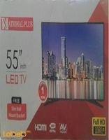 National plus led TV 55inch Full HD 55n28 model