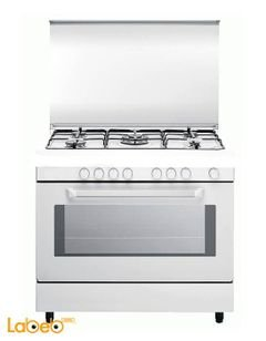 Blomberg Oven - 5 Burners - White color - GGG 9152