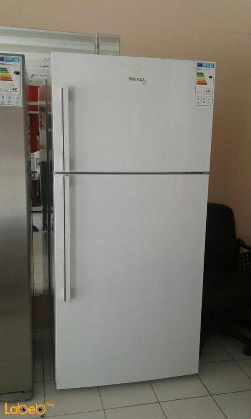 ثلاجة فريز علوي بيكو 565 لتر أبيض ND168120