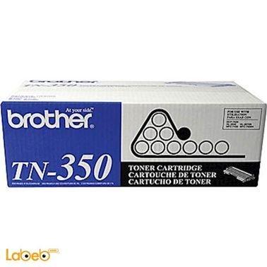 علبة حبر بروذر - لون أسود - تطبع حتى 2500 صفحة - TN-350