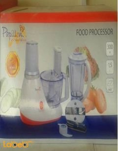 Papillon food processor - 300W - 1.5Liters - 807 Model