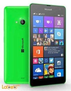 موبايل ميكروسوفت لوميا 535 - 8 جيجابايت - أخضر - Lumia 535