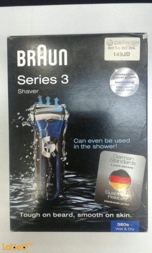 Braun beard Shaver 380s-4 model
