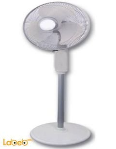 Milon Stand fan - 18 inch - White - NSM-L991 Model