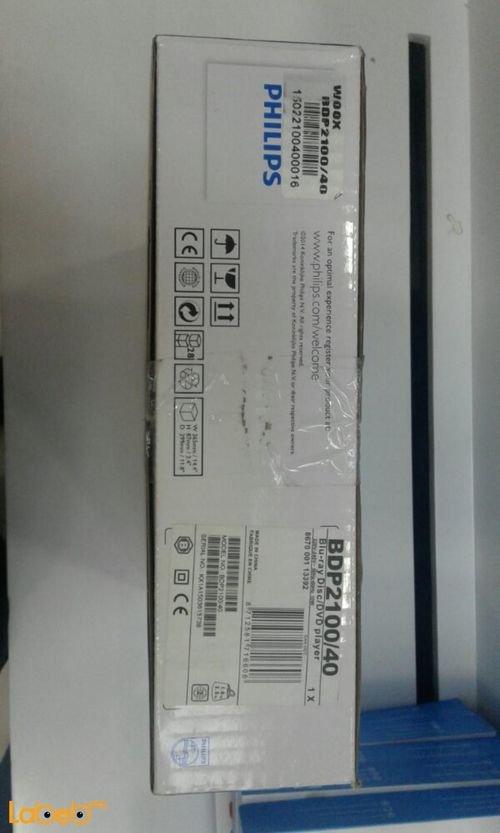 Philips BDP2100/40 Blu-ray Disc/ DVD player USB 2.0