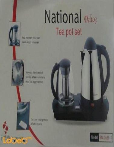 سخان ماء ومحضر للشاي ناشيونال ديلوكس 1.5 لتر SN-3836-T