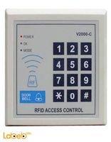 قفل إلكتروني لأبواب المكاتب والشركات 1000 مستخدم V2000-C