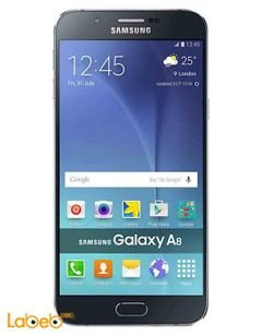 Samsung Galaxy A8 smartphone - 16GB - 5.7inch - 16MP - Black Color