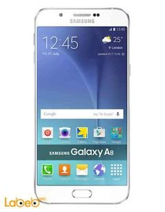 Samsung Galaxy A8 smartphone - 16GB - 5.7inch - 16MP - white Color