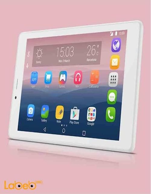 Alcatel pixi 4 Tab 8GB 7 inch Wi-Fi 3G White color