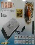 رسيفر تايجر  ستار +I 555 - فل اتش دي - دقة 1080 بكسل - لون اسود