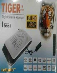 رسيفر تايجر  ستار +I 555 مدخل USB دقة 1080 بكسل لون اسود