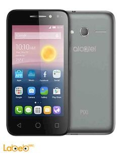 Alcatel pixi 4 (4) smartphone - 8GB - 4inch - 3G - black color