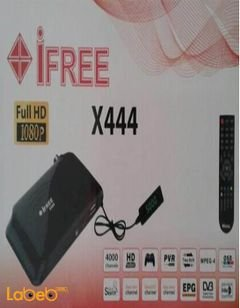 iFree X444 receiver - 4000 channels - Full HD - ifree X444