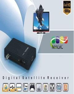 MAGIC MX400 HD Receiver - 2 USB - WIFI - IPTV - 6000 Channels