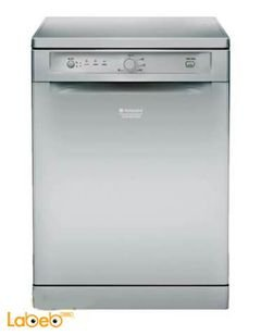 Ariston dish washer - 13 seats - Silver - LFb 5b019 a eu