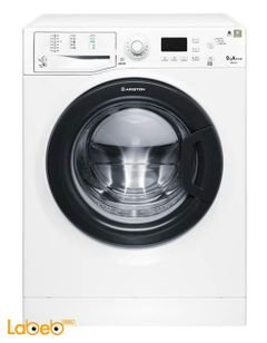 Ariston Front Loading Washing Machine - 9Kg - White - Wmg9237bex
