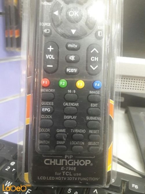 TCL chunghop Television Remote control E-T908 Model