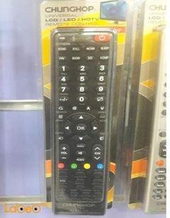 جهاز تحكم عن بعد للتلفزيون chunghop TCL - أسود - موديل E-T908