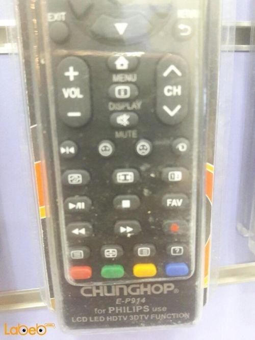 جهاز تحكم عن بعد للتلفزيون chunghop PHILIPS E-S914