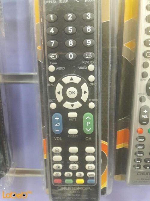 جهاز تحكم عن بعد للتلفزيون chunghop sharp E-S915