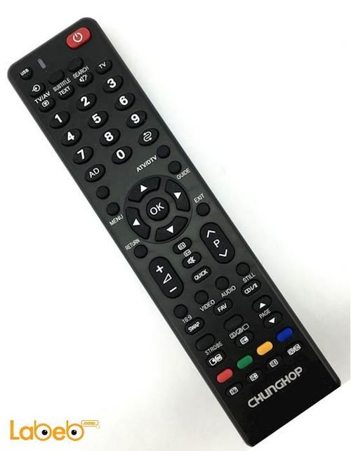 جهاز تحكم عن بعد للتلفزيون chunghop sony أسود E-S916
