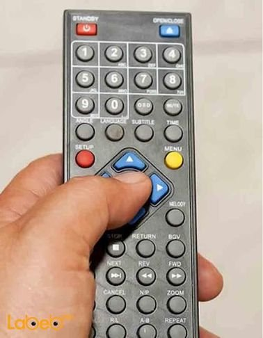 جهاز تحكم عن بعد للتلفاز - هيوندا - لون اسود