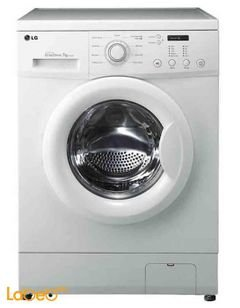 LG Front Load Washer - 7kg - 9 programs - white - FH0C3QDP