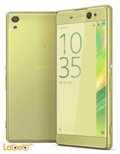 Sony Xperia XA smartphone - 16GB - HD - Lime Gold color