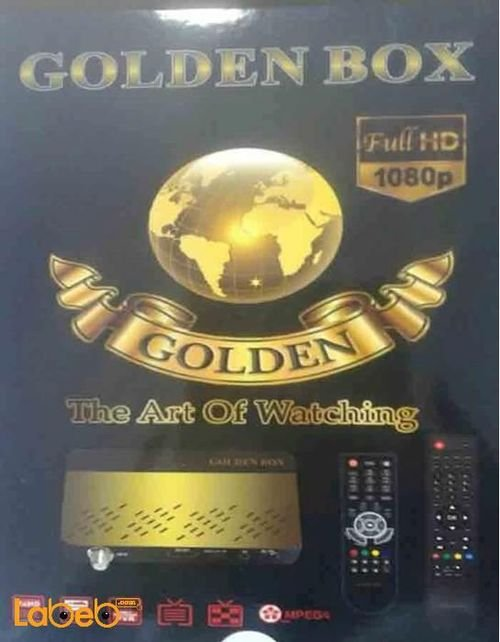 Golden Box receiver Full HD 1080p 5000 channels
