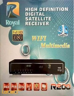 Royal R200 IPTV-HD BOX - WiFi multimedia - 3D - Full HD