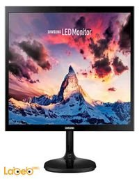 شاشة led للكمبيوتر سامسونج 19 انش لون اسود موديل S19F350HNM