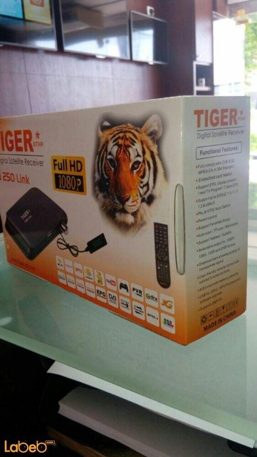 رسيفر تايجر Full hd 1080p موديل I250 Link