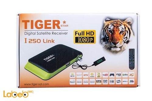 علبة رسيفر تايجر فل اتش دي 1080 بكسل I250 Link