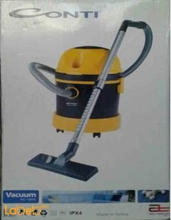 Conti Drum Vacuum Cleaner - 2200w - yellow color - VC-1680