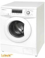 General Deluxe Washing Machine 8Kg silver color GAW8104S