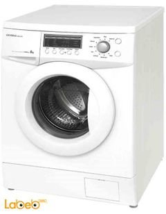 General Deluxe Washing Machine - 8Kg - silver color - GAW8104S