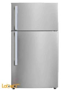 National Electric Refrigerator top freezer - 430L - Stainless