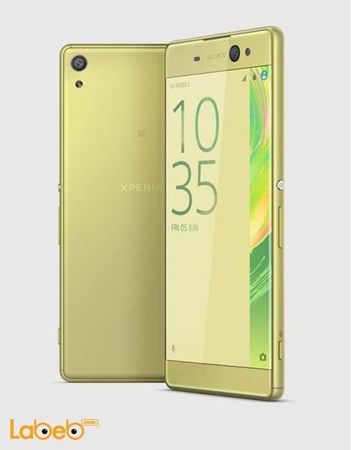 Sony Xperia XA Ultra smartphone 16GB Lime Gold color