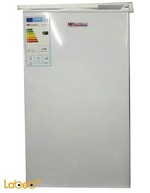 ثلاجة مكتب ناشونال الكتريك 91 لتر أبيض موديل 100te6